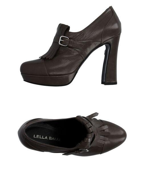 Lella Baldi | Black Loafer | Lyst