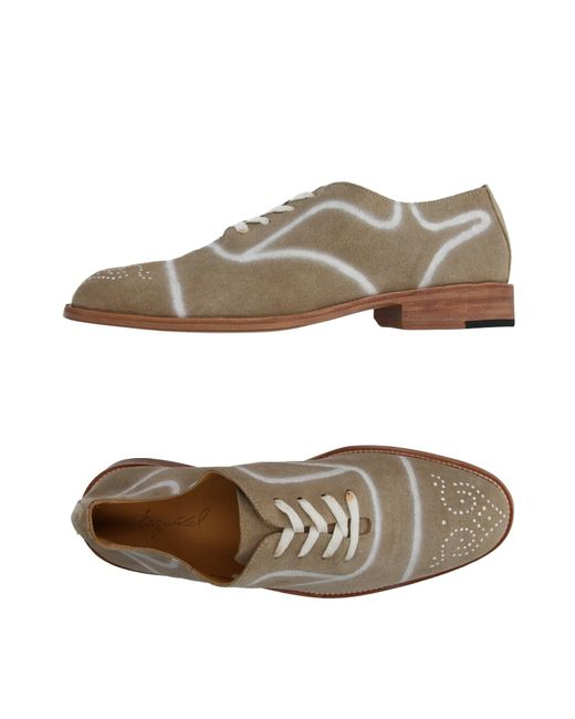 Esquivel | Natural Lace-up Shoe | Lyst