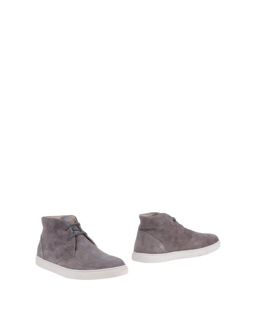 Serafini   Gray Ankle Boots for Men   Lyst