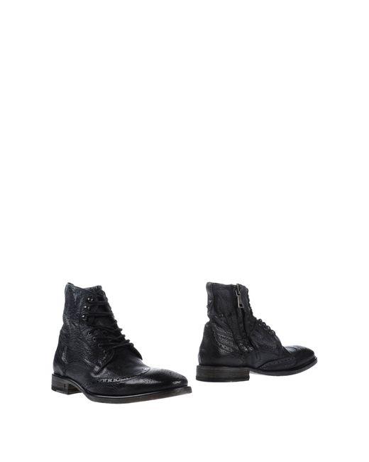 John Varvatos | Black Ankle Boots for Men | Lyst