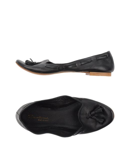 Santoni | Black Loafer | Lyst