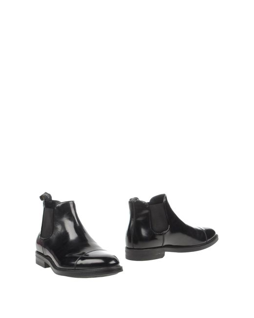 Alberto guardiani Ankle Boots in Black for Men