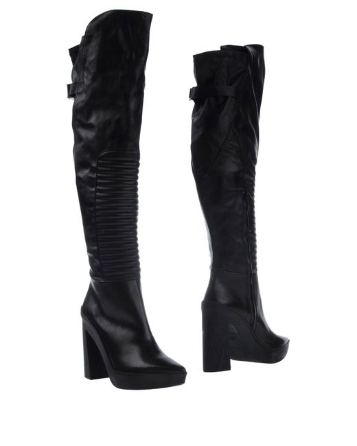 Vic Matié | Black Boots | Lyst