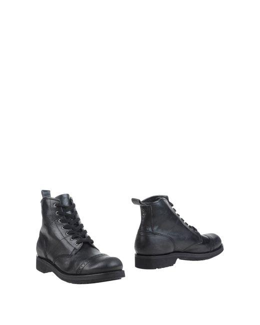 DIESEL | Black Boulevard Hi-top Sneakers for Men | Lyst