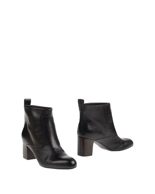 Veronique Branquinho   Brown Ankle Boots   Lyst
