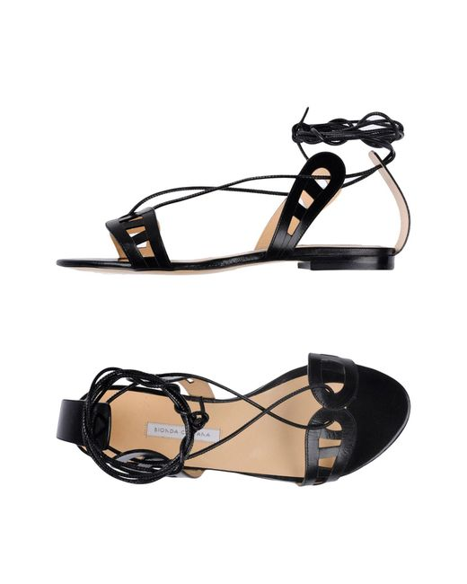 Bionda Castana | Black Sandals | Lyst