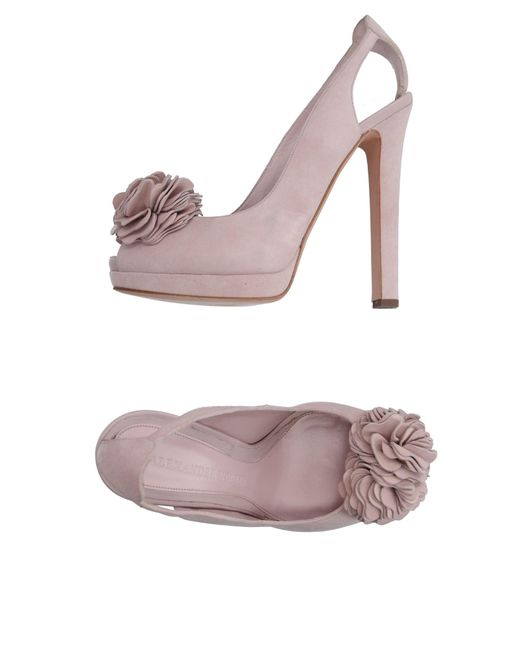 Alexander McQueen | Pink Sandals | Lyst