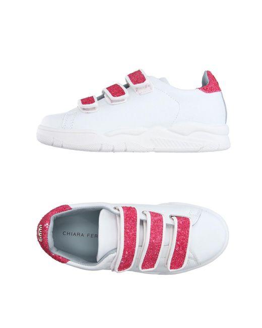 Chiara Ferragni | White Low-tops & Sneakers | Lyst