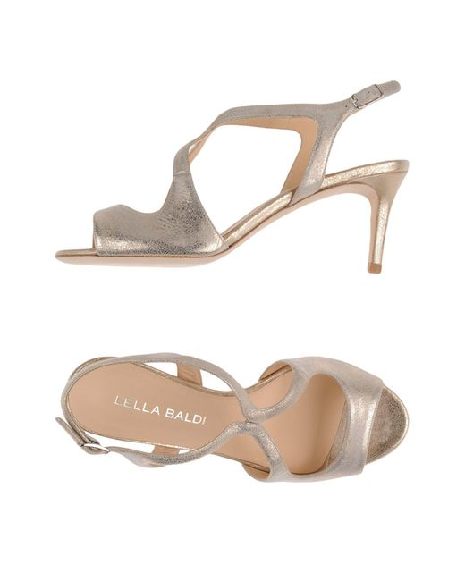 Lella Baldi | Multicolor Sandals | Lyst