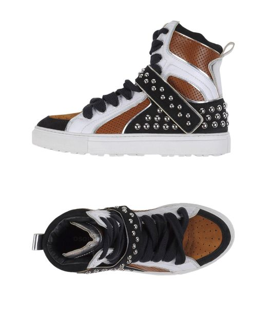DSquared² | Brown High-tops & Sneakers | Lyst