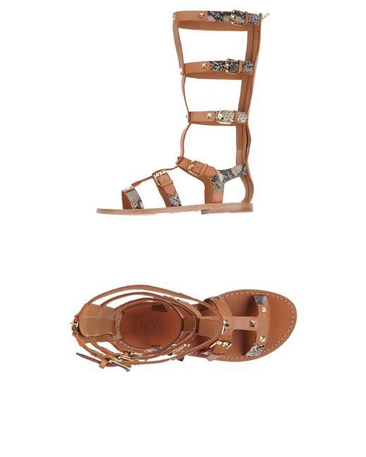 Ash | Brown Sandals | Lyst