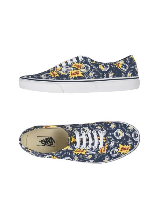 Vans | Blue Low-tops & Sneakers for Men | Lyst