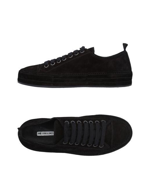 Ann Demeulemeester - Black Low-tops & Sneakers for Men - Lyst