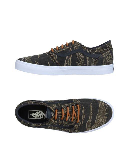 Vans   Green Low-tops & Sneakers for Men   Lyst