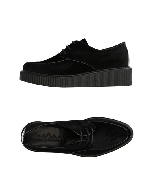 Sixtyseven | Black Lace-up Shoe | Lyst
