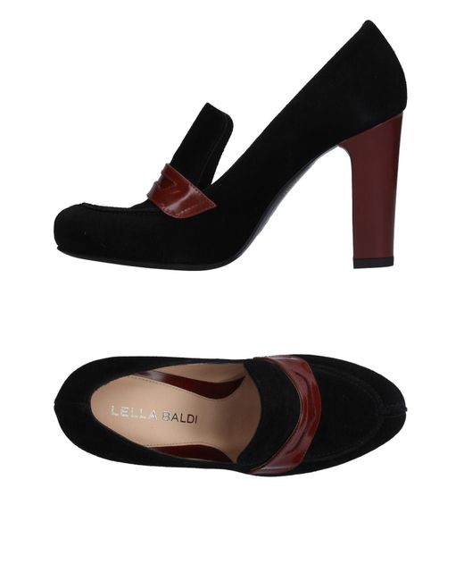 Lella Baldi | Black Loafer | Lyst