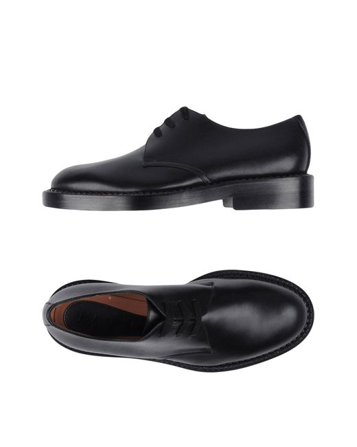 Marni | Black Lace-up Shoe for Men | Lyst