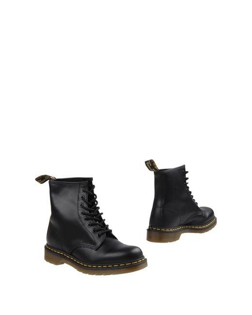 Dr. Martens | Black 8 Eye Lace Boots for Men | Lyst