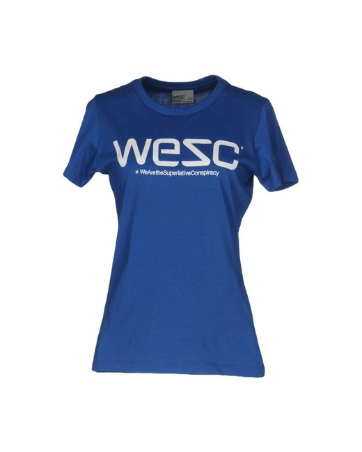 Wesc | Blue T-shirt | Lyst
