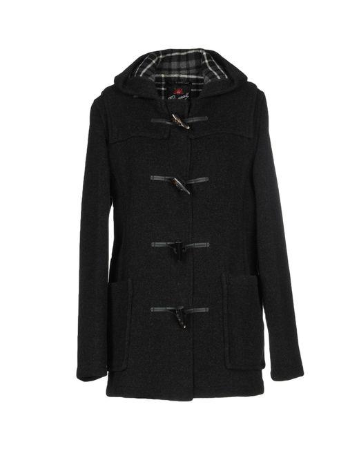 Gloverall - Gray Coat - Lyst