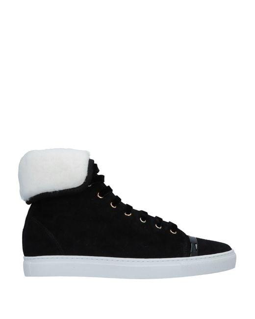 Lanvin - Black High-tops & Sneakers - Lyst