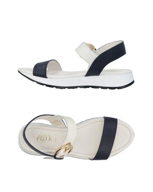 Loriblu - Blue Sandals - Lyst