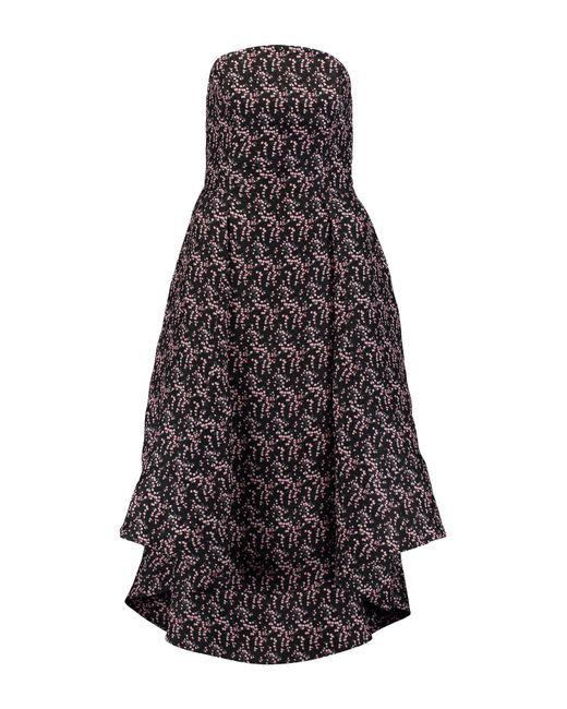 Rosie Assoulin - Black 3/4 Length Dresses - Lyst