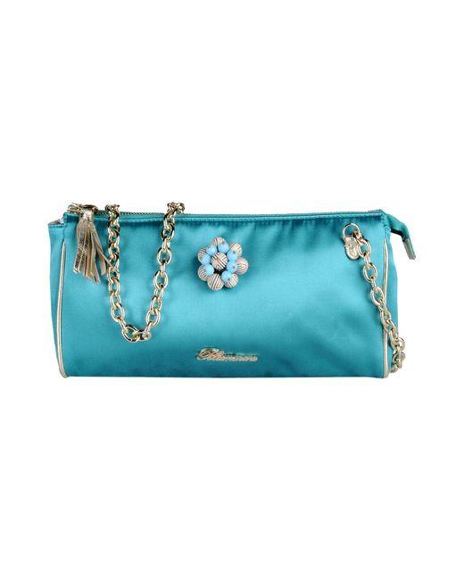 Blumarine - Blue Shoulder Bag - Lyst