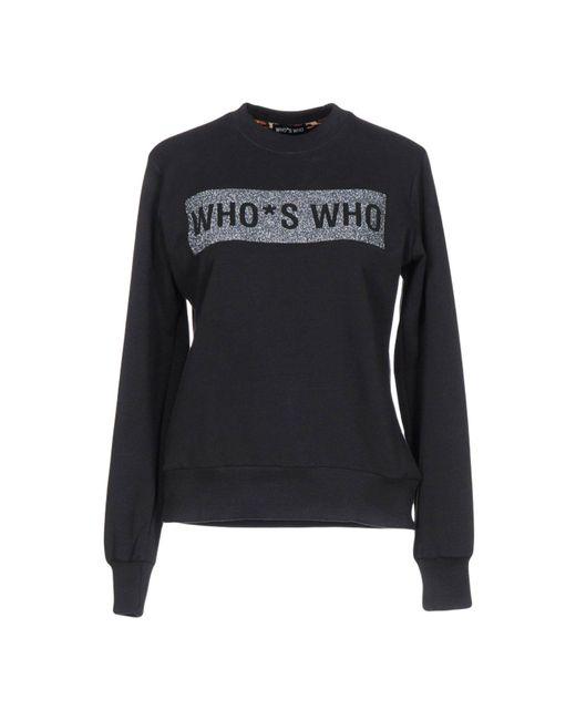 Who*s Who | Gray Sweatshirt | Lyst