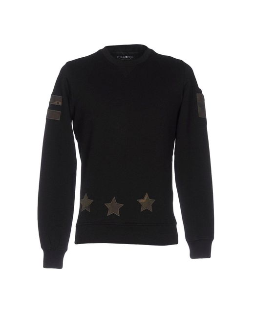 Hydrogen | Black Sweatshirt for Men | Lyst
