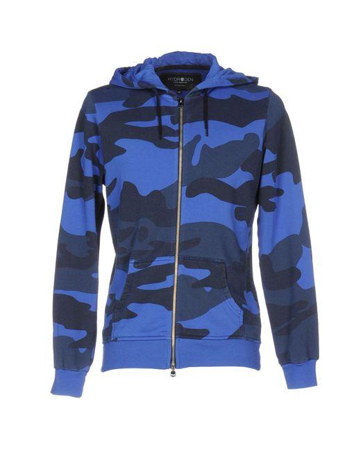 Hydrogen | Blue Sweatshirt for Men | Lyst