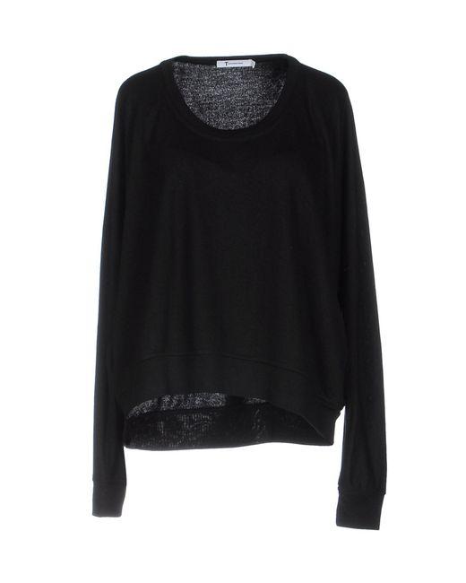 T By Alexander Wang | Black Sweatshirt | Lyst