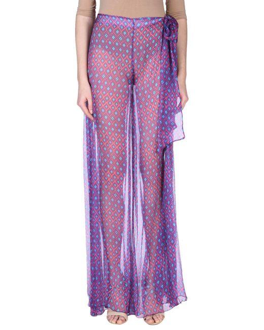 Fisico - Purple Casual Pants - Lyst