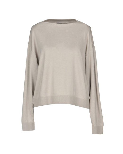 Gentry Portofino - Gray Sweater - Lyst