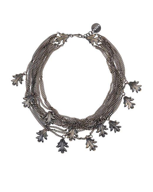 Orska - Metallic Necklace - Lyst