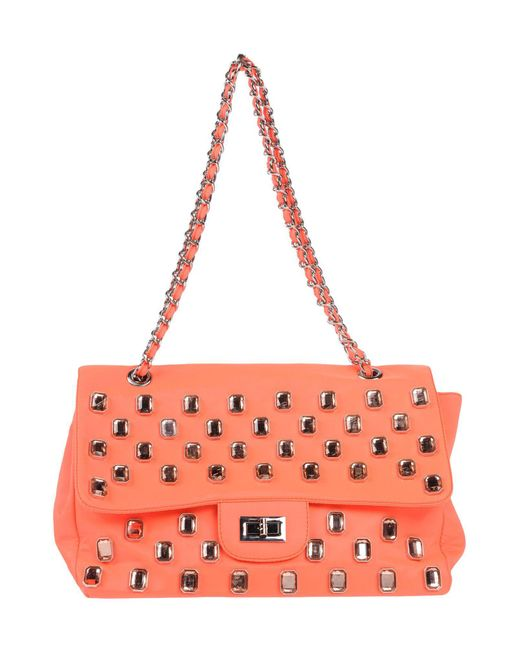Mia Bag - Orange Handbag - Lyst