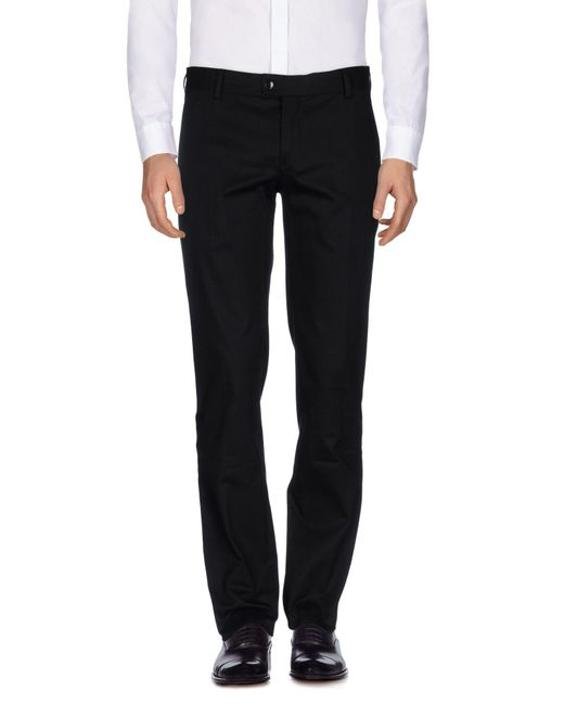 Ermanno Scervino | Black Casual Trouser for Men | Lyst