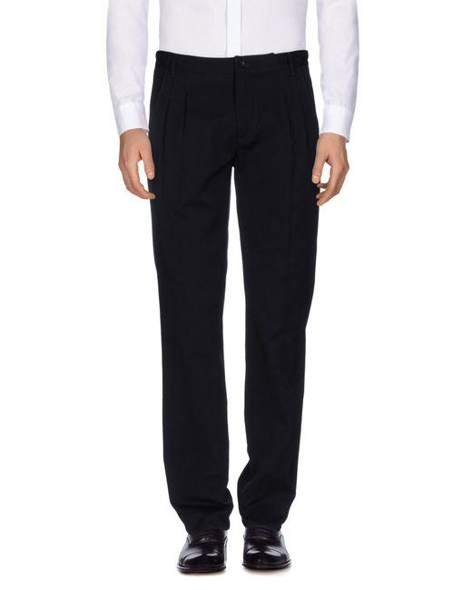 Ermanno Scervino | Black Casual Trouser for Men | Lyst