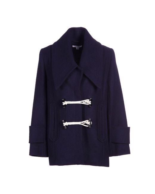 Carven | Blue Coat | Lyst