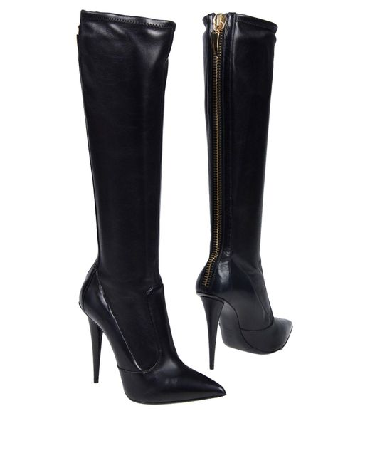 Giuseppe Zanotti - Black Boots - Lyst