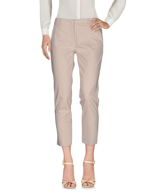 Just For You - Natural Casual Trouser - Lyst