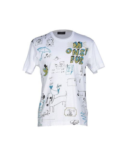 Viktor & Rolf - White T-shirts for Men - Lyst