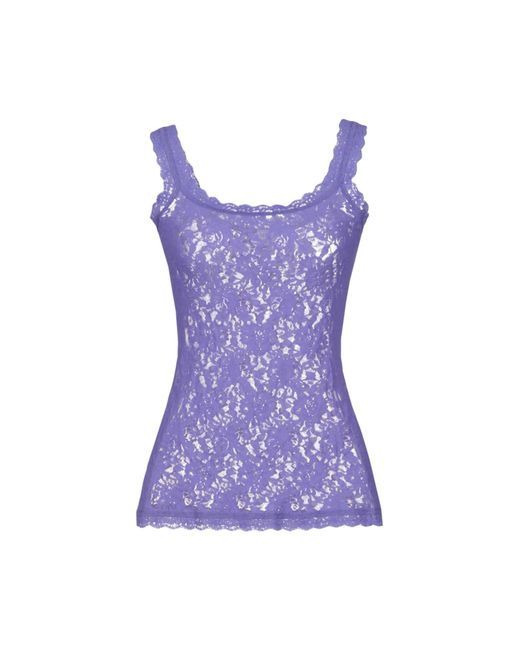 Hanky Panky - Purple Sleeveless Undershirt - Lyst