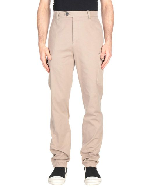 Brunello Cucinelli - Natural Casual Trouser for Men - Lyst