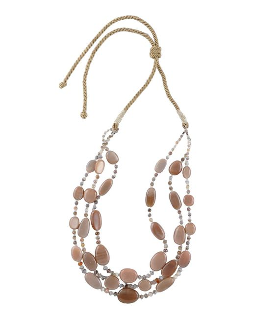 First People First - Brown Necklace - Lyst