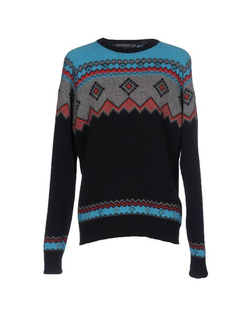 Department 5 | Blue Sweater for Men | Lyst