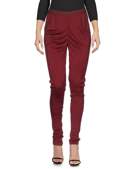 Pianurastudio - Red Leggings - Lyst
