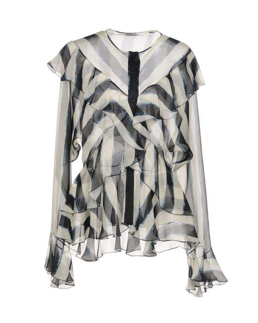 Alberta Ferretti - Natural Shirts - Lyst