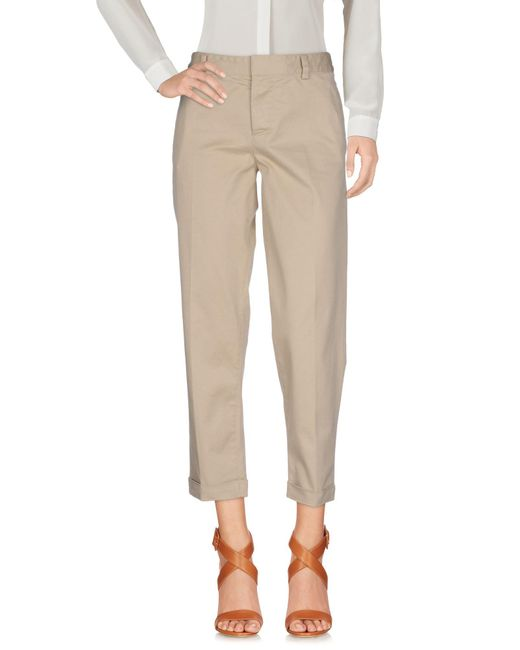 DSquared² - Natural Casual Trouser - Lyst