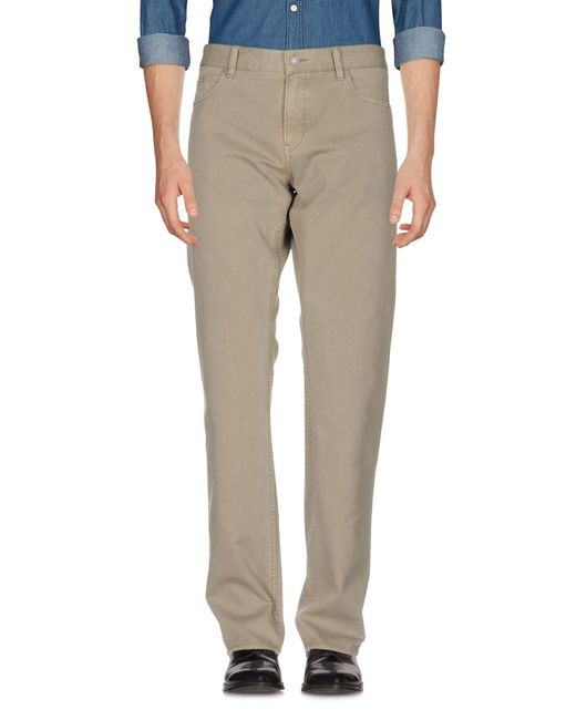 BOSS Green - Gray Casual Pants for Men - Lyst